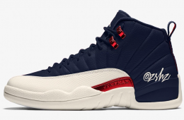 Air Jordan 12 College Navy