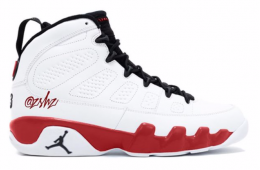 huge discount 524ab fc024 Air Jordan 9 White Red