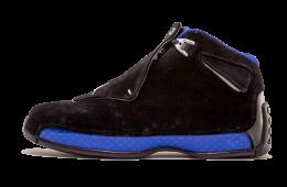 Air Jordan 18 Black Sport Royal 2018