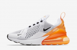 Nike WMNS Air Max 270 White Total Orange