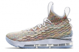 Nike LeBron 15 Fruity Pebbles White