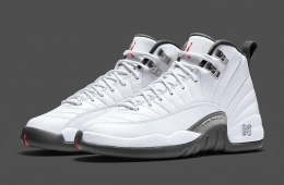 quality design b5932 9078f Air Jordan 12 White Grey