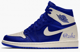 Air Jordan 1 Retro High OG Hyper Royal